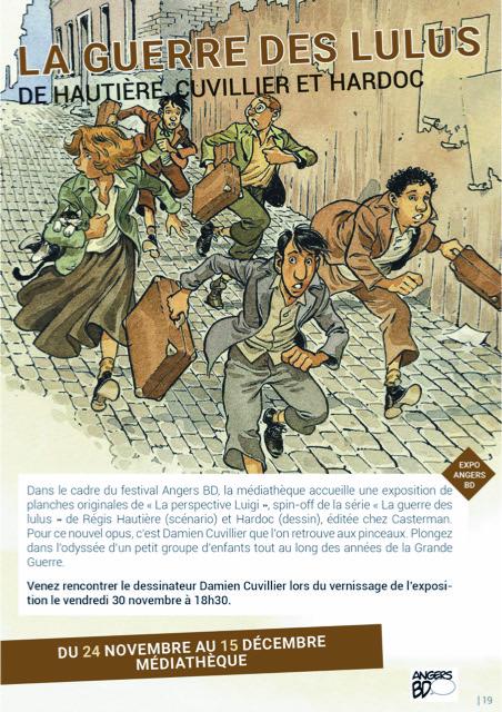 Expo «La pespective Luigi» de Damien Cuvillier
